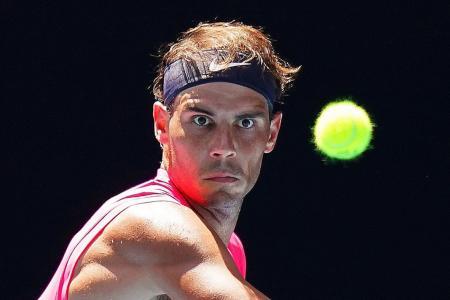 Rafael Nadal not focused on Roger Federer's 20 Grand Slam titles