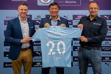 Man City training stint up for grabs for Under-12 players in Singapore