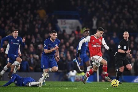 Neil Humphreys: Gabriel Martinelli too good for Arsenal