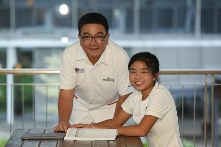 Father and daughter go into nursing together