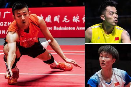 China's badminton stars heading here for Singapore Badminton Open