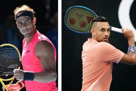 I don't really dislike him: Kyrgios plays down Nadal feud