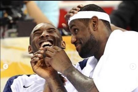 Heartbroken LeBron vows to continue Kobe legacy