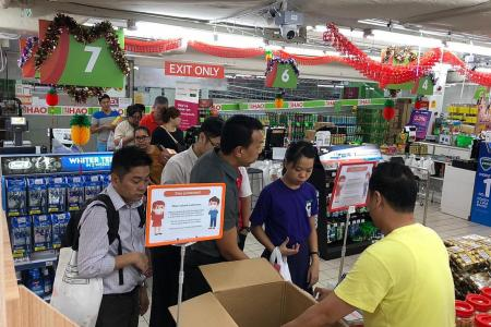 Brisk sales of masks, retailers warned against escalating prices