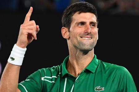 Djokovic reaches record eighth Australian Open final