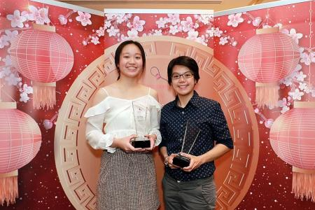 Cherry on the cake for Cherie Tan, who's named Bowler of the Year