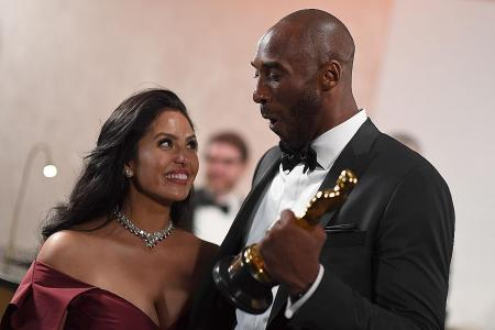 Kobe Bryant's wife Vanessa at a loss for words