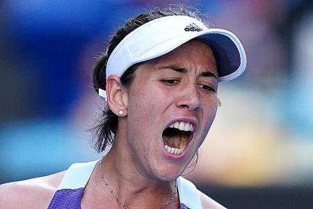 Unseeded Garbine Muguruza in Australian Open final against Sofia Kenin