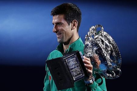 Novak Djokovic wins record eighth Australian Open title