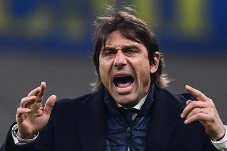 Conte says complaints justified after tough win for Inter