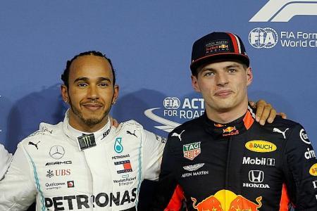Lewis Hamilton's good, but he's not God: Max Verstappen