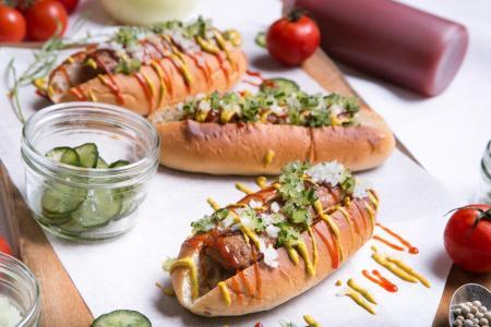 Beyond Sausage Hot Dog voted top vegan dish in Singapore