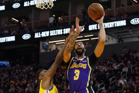 LA Lakers fend off Golden State Warriors' comeback bid