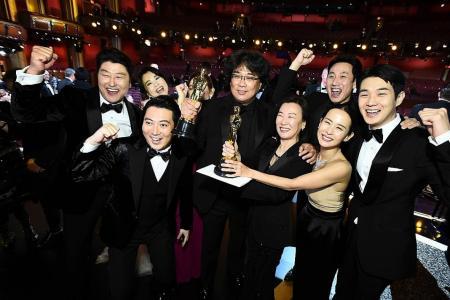 South Korea's Parasite beats Hollywood greats to make Oscar history