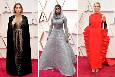 Scarlett Johansson is the fashion winner at Oscars red carpet