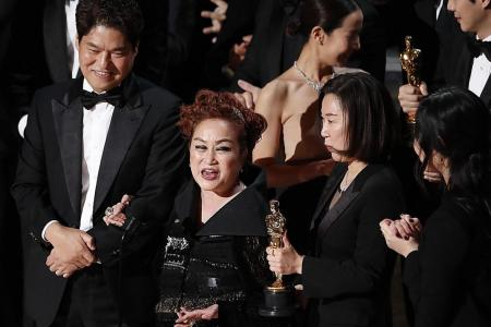 Academy Awards show draws record low TV audience in US