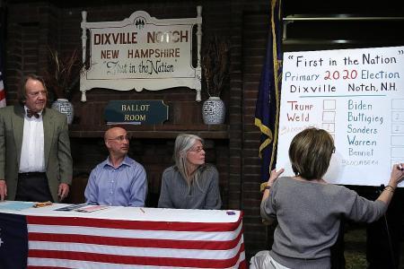 New Hampshire to see a volatile Democratic primary