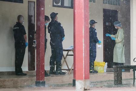 Rare glimpse inside one of government quarantine facilities