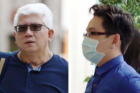 Man and step-son claim trial to charge of attacking NSF who died