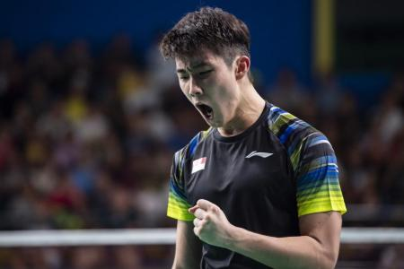 Loh Kean Yew's giant-killing act continues with win over world No. 2