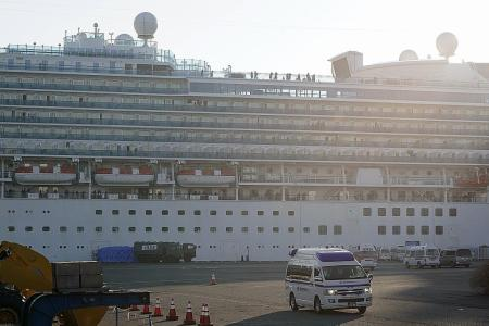 Japan to let elderly off cruise ship as number infected crosses 200