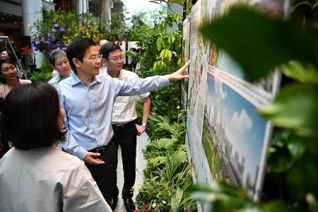 Part of Orchard Road could be turned into car-free green space