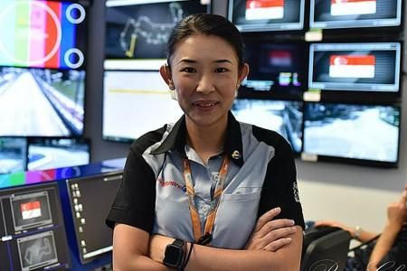 Singapore GP official Janette Tan conferred Charlie Whiting Award