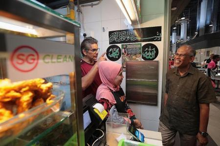 Stalls that meet hygiene level will now get SG Clean mark