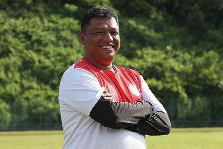 Baptism of fire for Tanjong Pagar United coach Hairi Su'ap