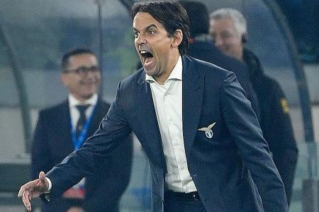 Lazio topple Inter Milan to go second