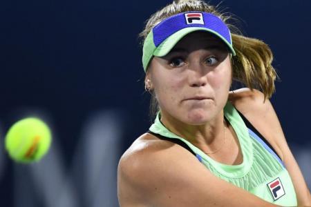 Australian Open winner Sofia Kenin loses on WTA return