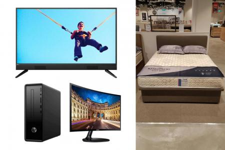 Upgrade your home with package deals at Harvey Norman Factory Outlet