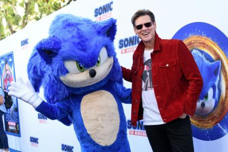 Jim Carrey brings wicked humour to Sonic The Hedgehog