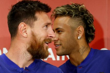 Neymar still wants to rejoin Barcelona, says Messi