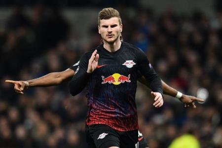 Leipzig's Werner proud to be linked with Liverpool
