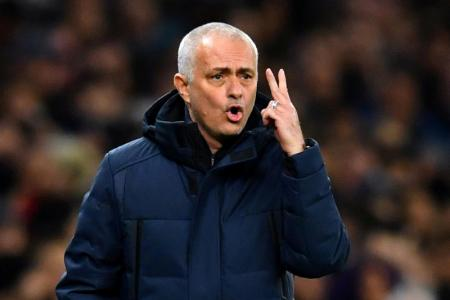 Mourinho: Incredible if Spurs can finish in top four