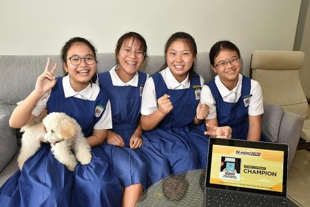 Teams from NYP, St Nicholas win big in N.E.mation!