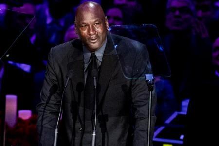 Jordan pays tribute to 'brother' Kobe at memorial