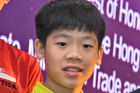 S'pore paddler Izaac Quek wins first ITTF World Junior singles title