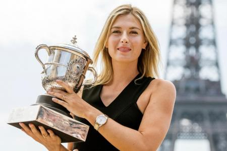 Five-time Major winner Sharapova announces retirement