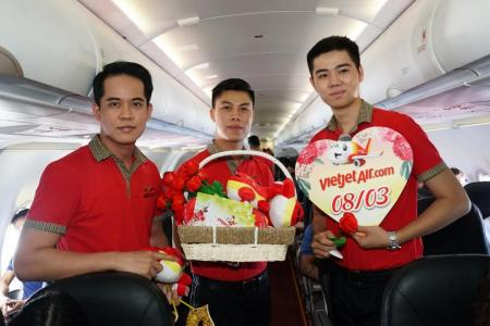 Vietjet celebrates IWD with 83% off air tickets