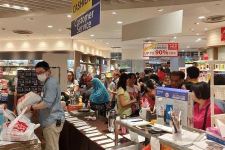 Crowds returning to malls across Singapore despite Covid-19