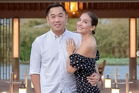After freezing eggs, conceiving is newly-engaged Ase Wang's priority