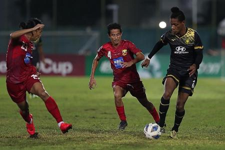 Tampines Rovers beat Shan United go top of AFC Cup group