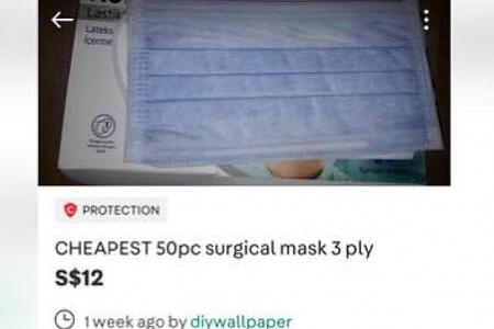 Buyers of 'cheap' masks lose $122,000 to overseas scam
