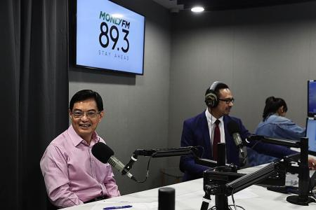 Discussing GE timing with PM: Heng Swee Keat