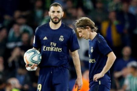 Coronavirus: Real Madrid squad in quarantine after positive test