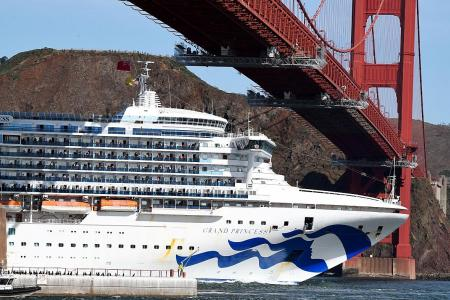 Several cruise ships unable to dock over coronavirus fears