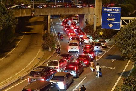 Malaysians dash home and back ahead of lockdown