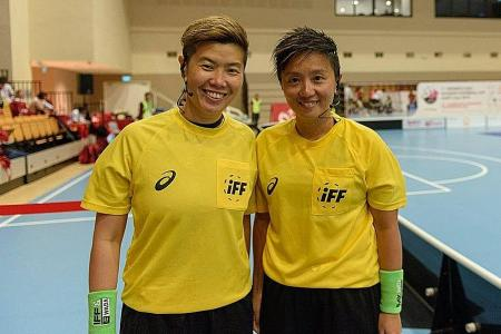 S'pore floorball refs' international assignment in doubt due to virus
